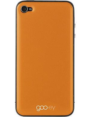 GOOEY iPhone 4/4s skin orange