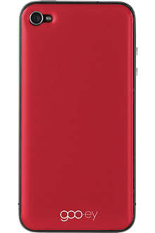 GOOEY iPhone 4/4s skin red