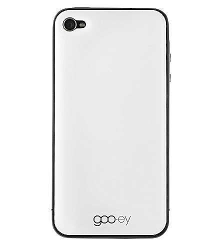 GOOEY iPhone 4/4s skin white