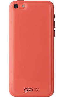 GOOEY iPhone 5C skin coral