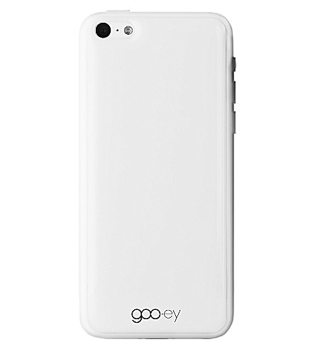 GOOEY iPhone 5C skin white