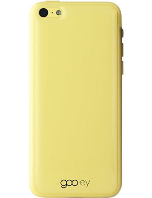 GOOEY iPhone 5C skin yellow