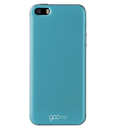 GOOEY iPhone 5/5s skin aqua
