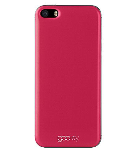 GOOEY iPhone 5/5s skin red