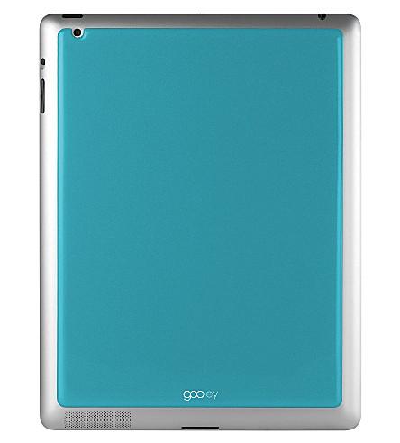 GOOEY iPad skin aqua
