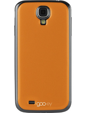 GOOEY Samsung Galaxy S4 phone skin orange