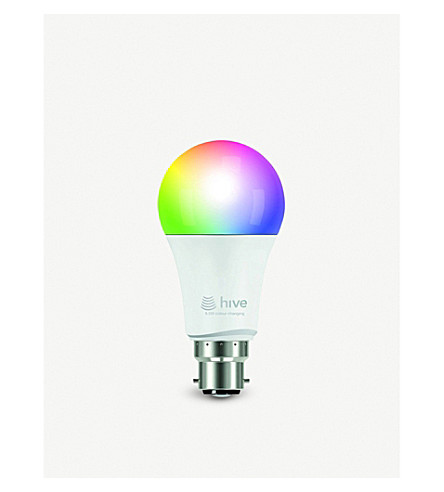 HIVE LED Smart Active Colour-changing Light B22 bayonet bulb