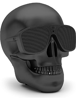 JARRE AeroSkull XS portable Bluetooth speaker dock Black