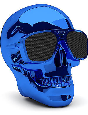 JARRE AeroSkull XS portable Bluetooth speaker dock Blue