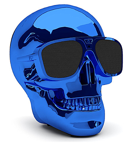 JARRE AeroSkull XS portable Bluetooth speaker dock Blue