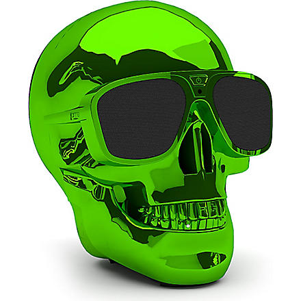 JARRE AeroSkull XS portable Bluetooth speaker dock Green