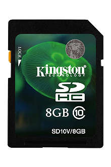 KINGSTON SDHC Class 10 8GB memory card