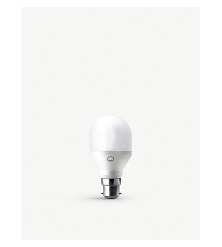 LIFX WiFi Colour White Smart LED B22 Bulb (Pearl+white