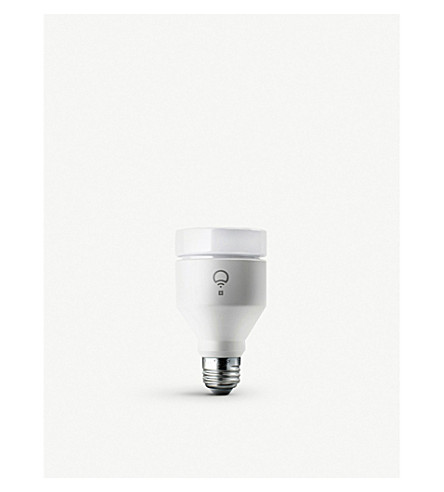 LIFX Plus Colour White WiFi Smart E27 Bulb (Pearl+white