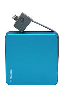 MIPOW Power Cube 5200L portable charger, blue