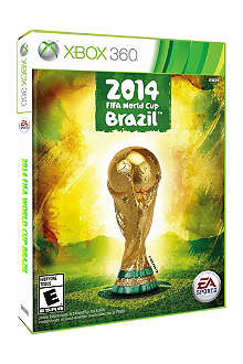 MICROSOFT Fifa World Cup Brazil 2014 Xbox 360 game
