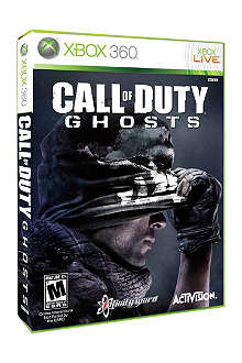 MICROSOFT Call Of Duty Ghosts Xbox 360 game
