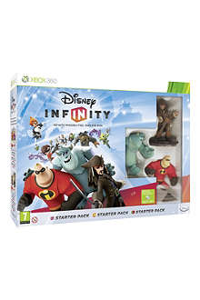 MICROSOFT Disney Infinity Xbox 360 starter pack game