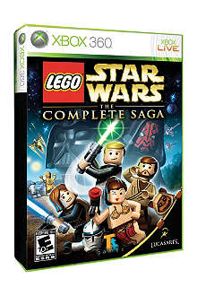 MICROSOFT Lego Star Wars Complete Saga Xbox 360 game