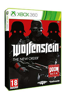 MICROSOFT Wolfenstein The New Order Xbox 360 game