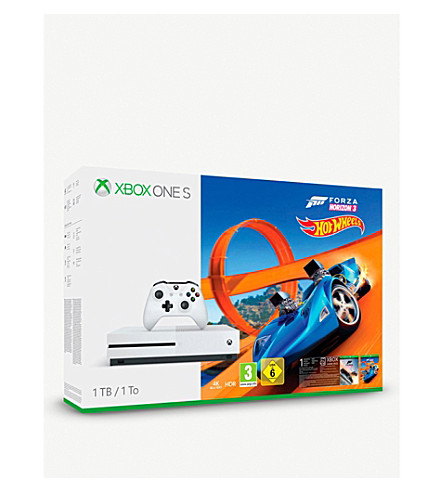 MICROSOFT Xbox One 1TB Forza 3 Hot Wheels Bundle