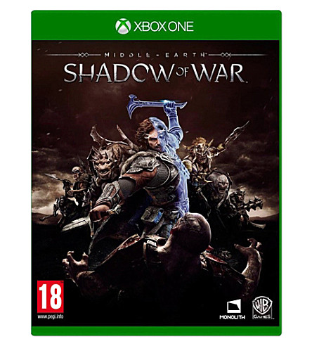 MICROSOFT Middle earth shadow of war xbox one game