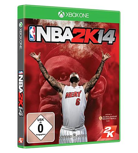 MICROSOFT NBA 2K14 Xbox 一个视频游戏