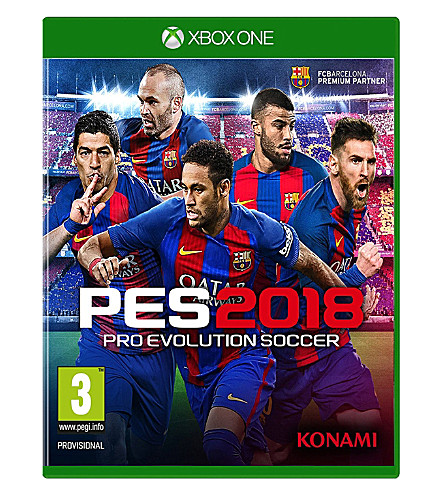 MICROSOFT Pro Evolution Soccer 2018 Xbox One Game
