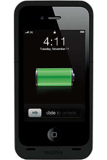 MOPHIE Air Juice Pack iPhone 4 battery case and charger