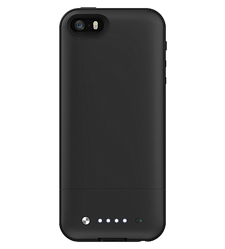 MOPHIE Space Pack battery case 16GB for iPhone 5/5s black
