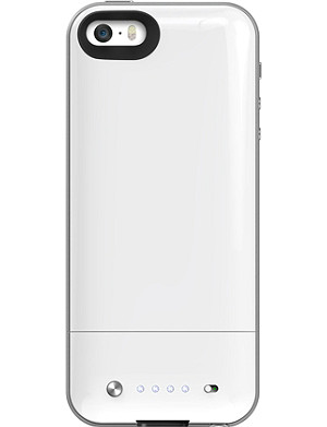 MOPHIE Space Pack battery case 16GB for iPhone 5/5s white
