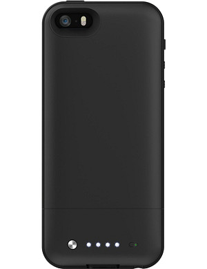 MOPHIE Space Pack battery case 32GB for iPhone 5/5s black