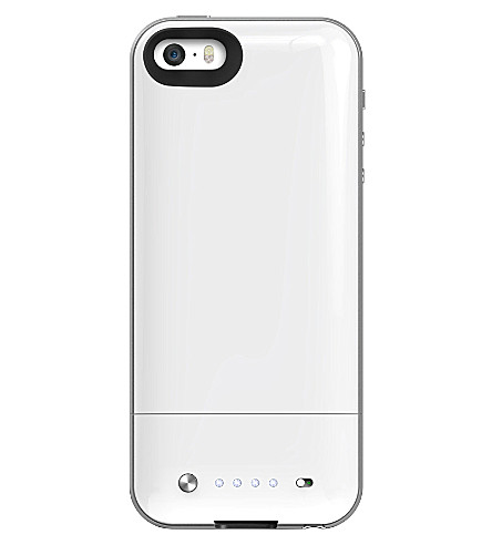 MOPHIE Space Pack battery case 32GB for iPhone 5/5s white