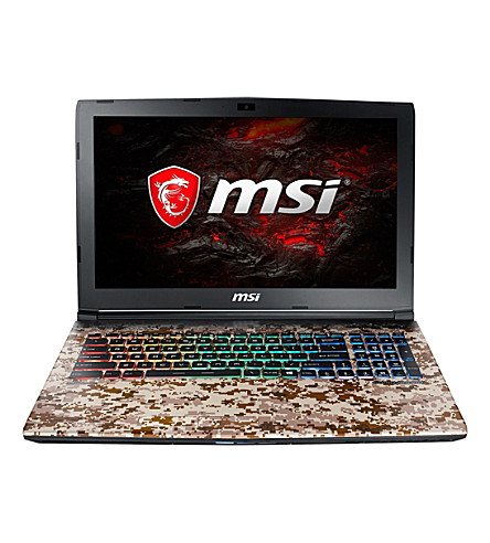 MSI GE62VR 7RF Camo Squad Gaming Laptop