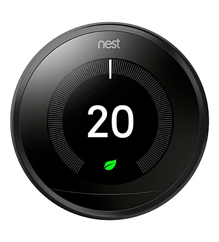 NEST Learning thermostat (Black