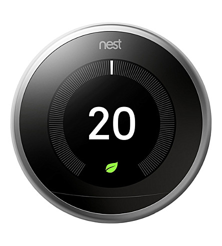 NEST Learning thermostat (Stainless steel