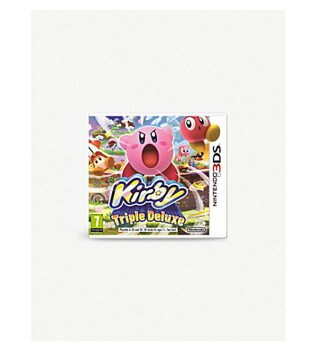 NINTENDO Kirby triple deluxe 3DS game