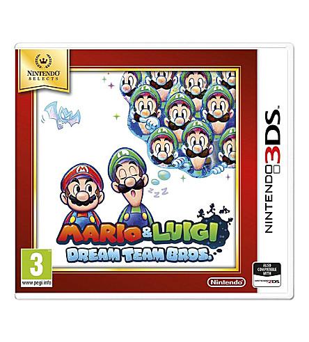 NINTENDO Mario & Luigi Dream Team Bros 3DS game