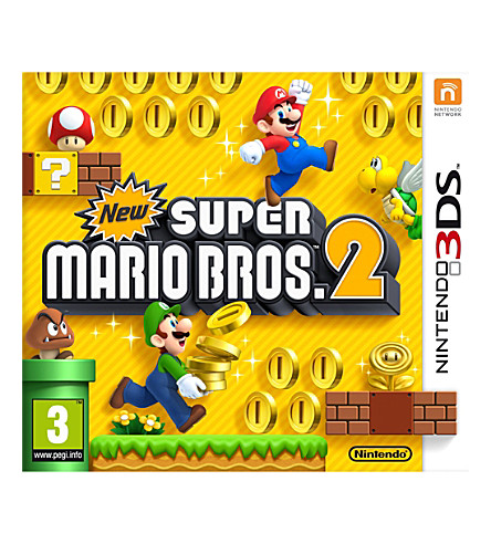 NINTENDO New super mario bros 2 nintendo 3ds