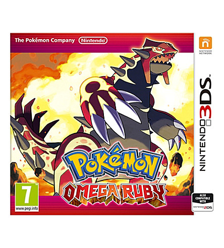 NINTENDO Pokemon omega ruby nintendo 3ds