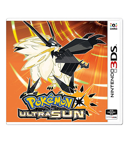NINTENDO Pokémon Ultra Sun 3DS Game