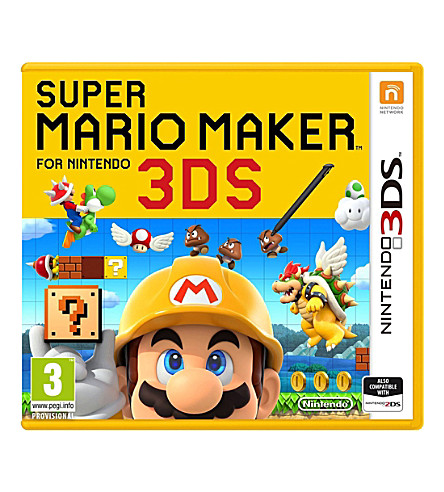 NINTENDO Super Mario Maker 3DS Game