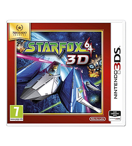 NINTENDO Star Fox 64 3DS game