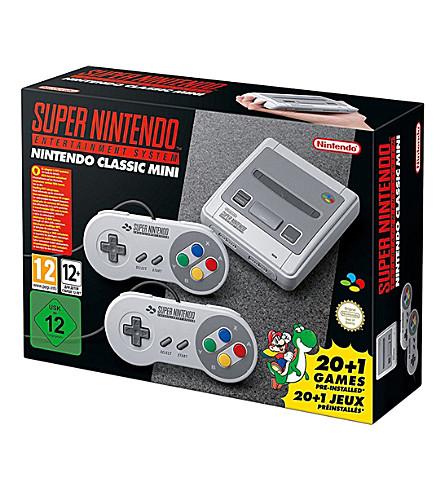 NINTENDO Super Nintendo classic mini console