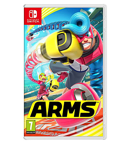 NINTENDO Arms nintendo switch game