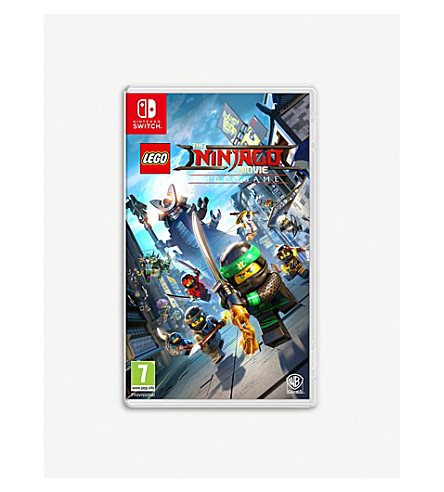 NINTENDO Lego Ninjago movie Switch game