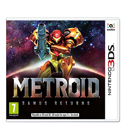 NINTENDO Metroid: Samus Returns 3DS game