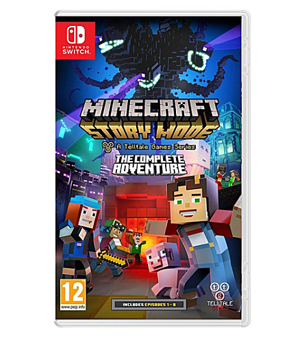 NINTENDO Minecraft Story Mode switch game
