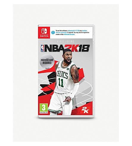 NINTENDO NBA 2K18 Switch game