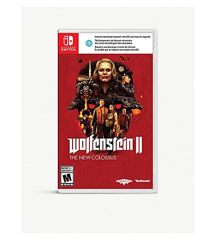 NINTENDO Wolfenstein II The New Colossus Switch